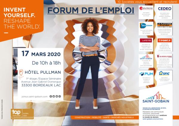 v3 affiche forum de l'emploi 2020